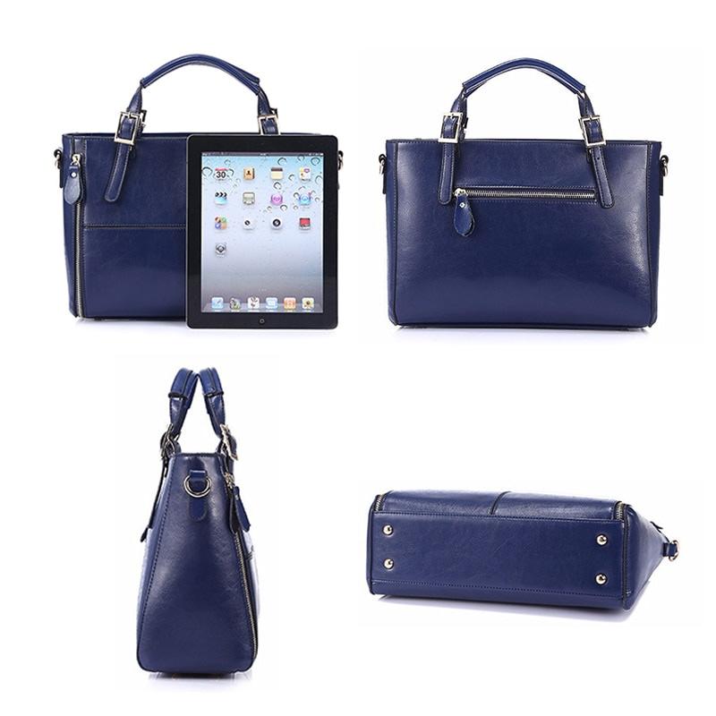 Women's Luxury Leather Top-Handle Bag