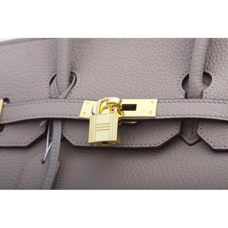 Genuine Full Grain Leather Handbag
