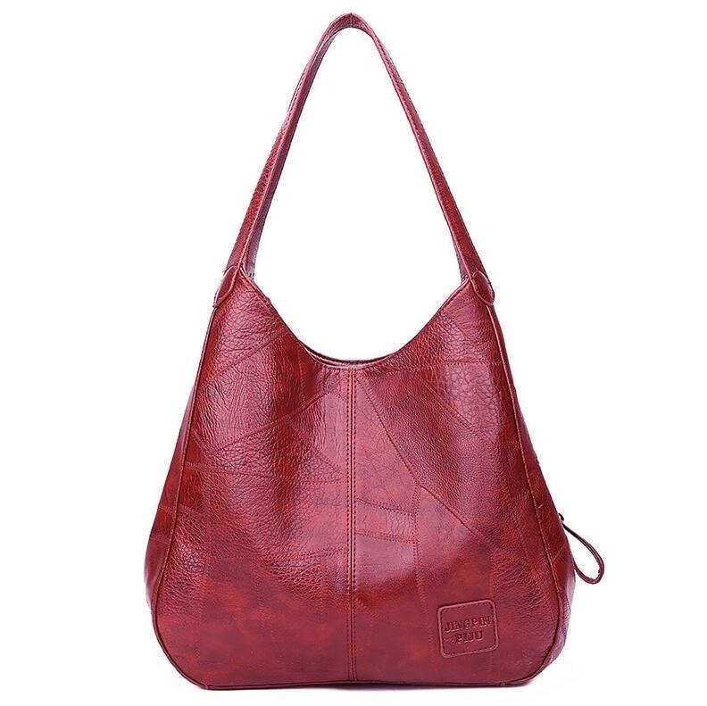 Women's Big Leather Handbag
